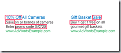 Google Display Ads - Value words