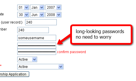 Long-Looking Password